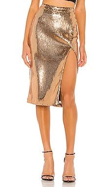 Duchess Sequin Skirt Lovers + Friends $198