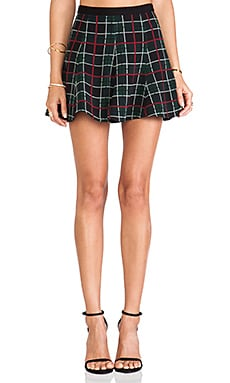 Lovers + Friends x REVOLVE Samantha Skirt in Plaid
