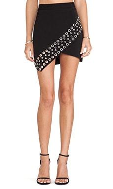Lovers + Friends New York Mini Skirt in Black