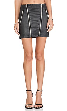 Lovers + Friends Mikey Moto Skirt in Manchester