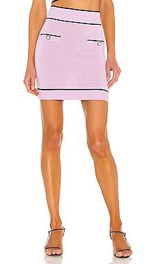 Pearl Mini Skirt Lovers + Friends $160