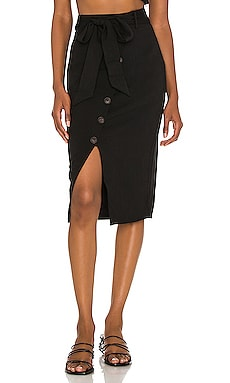 Watson Midi Skirt Lovers + Friends $138 NEW