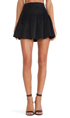 Lovers + Friends High Tide Skirt in Black