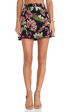 Lovers + Friends Getaway Skirt in Tropical Bloom