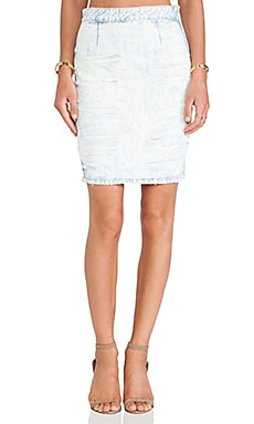 Lovers + Friends Miles Skirt in Atlantic