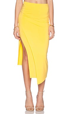 Lovers + Friends Bridgette Midi Skirt in El Dorado
