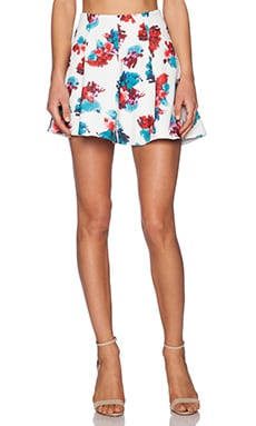 Lovers + Friends Tatum Skirt in Tossed Floral