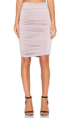 Lovers + Friends x REVOLVE Gathered Midi Skirt in Vintage Lilac