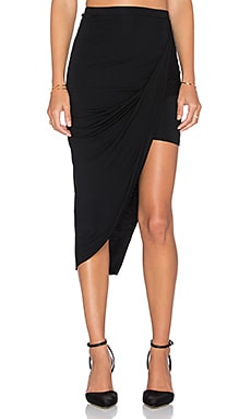 Lovers + Friends Imperial Skirt in Black