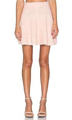 x REVOLVE Be Flirty Skirt en Rose Léger