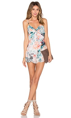 Bello Romper in Paradise Floral