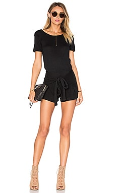Lovers + Friends Dashboard Romper in Black