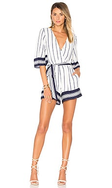 Isabelle Romper in Stripe