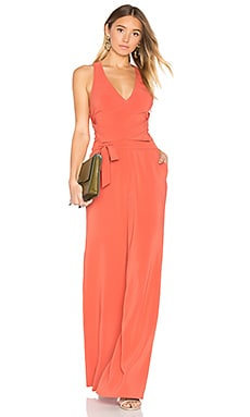 x REVOLVE X Marks The Spot Jumpsuit in Blood Orange
