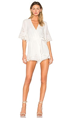 Brixton Romper in Ivory