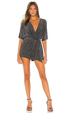 Nighttime Sky Romper Lovers + Friends $158