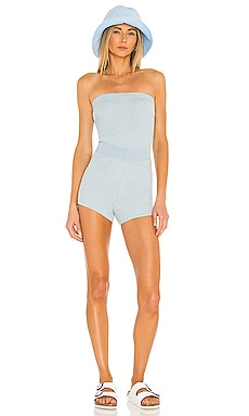 Sandra Knit Romper Lovers + Friends $148