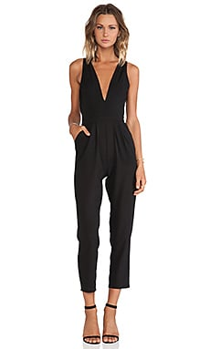 Lovers + Friends Riley Jumpsuit in Black
