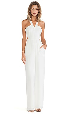Lovers + Friends Adore You Jumpsuit in Ivory