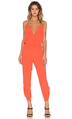 Lovers + Friends Jubilee Jumpsuit in Terracota
