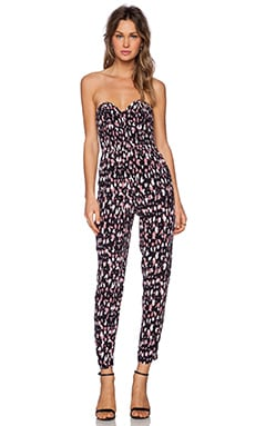 Lovers + Friends Dakota Jumpsuit in Night Animal