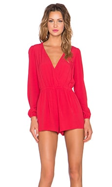 Lovers + Friends x REVOLVE Monday to Friday Romper in Red