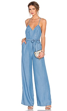 Lovers + Friends Sunshine Jumpsuit in Ocean