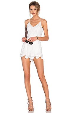 Lovers + Friends x REVOLVE Songbird Romper in White
