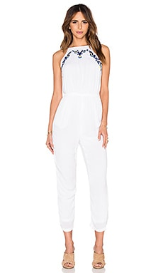 Lovers + Friends Lark Jumpsuit in Ivory