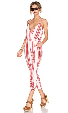 Lovers + Friends x REVOLVE Jubilee Jumpsuit in Red Stripe