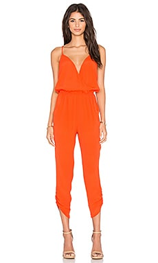 Lovers + Friends Jubilee Jumpsuit in Coral Reef
