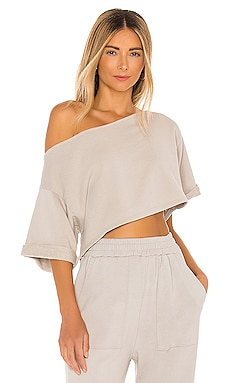 Cropped Off Shoulder Top Lovers + Friends $118 BEST SELLER