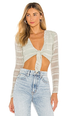 Sea Breeze Top Lovers + Friends $35 (FINAL SALE)