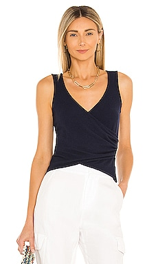 Sally Wrap Top Lovers + Friends $88