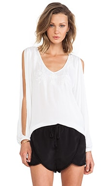 Lovers + Friends Daydream Blouse in White