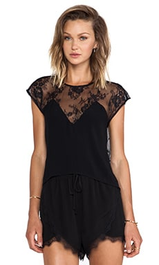 Emrey Blouse in Black