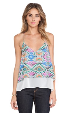 Lovers + Friends Poppy Cami in Mosaic