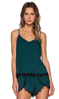 Lovers + Friends Coveted Cami in Emerald