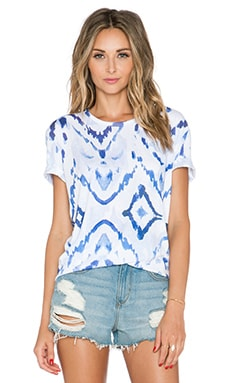 Lovers + Friends Oversized Tee in Ikat