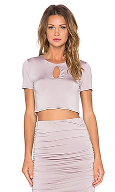 Lovers + Friends x REVOLVE Aria Crop Top in Vintage Lilac