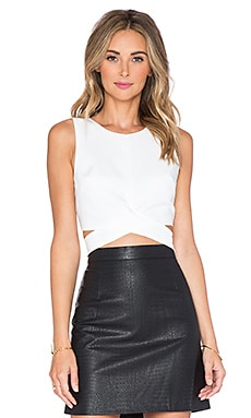 x REVOLVE So Into You Crop Top in White