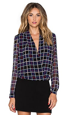 Lovers + Friends Get Down Blouse in Plaid