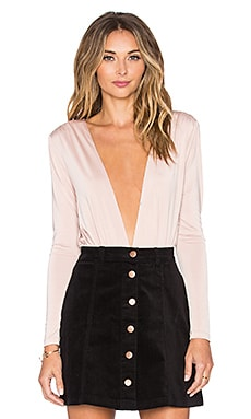 Lovers + Friends x REVOLVE Tension Bodysuit in Mauve