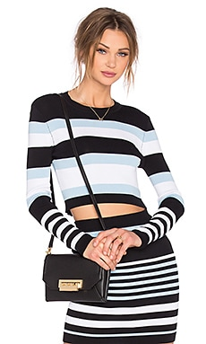 Lovers + Friends Dover Top in Multi Stripe