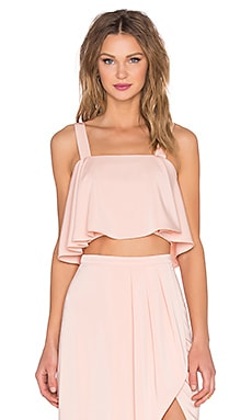 Lovers + Friends x REVOLVE Bouffant Crop Top in Blush