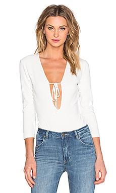 Lovers + Friends x REVOLVE Activate Bodysuit in Ivory