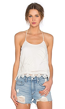 Lovers + Friends Baciami Top in Ivory