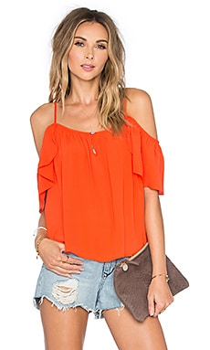 Lovers + Friends Ariel Top in Coral Reef