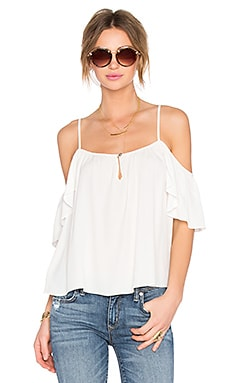 Lovers + Friends Ariel Top in Ivory