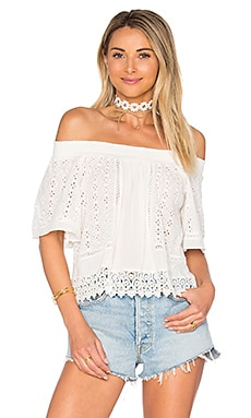 Seamist Top in Ivory